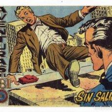 Tebeos: AVENTURAS DEL FBI Nº 221 - SIN SALIDA - ROLLÁN 1958 - ORIGINAL. Lote 284078713