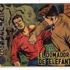 Tebeos: AVENTURAS DEL FBI Nº 223 - EL DOMADOR DE ELEFANTES - ROLLÁN 1958 - ORIGINAL. Lote 284079048