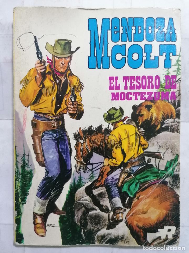 MENDOZA COLT, EL TESORO DE MOCTEZUMA, Nº 3 (Tebeos y Comics - Rollán - Mendoza Colt)