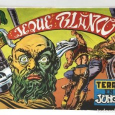 Tebeos: JEQUE BLANCO - TERROR EN LA JUNGLA - EDICIONES BO. Lote 285469928