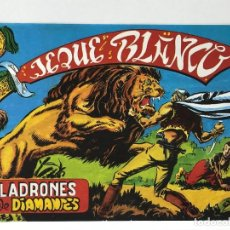Tebeos: JEQUE BLANCO - LADRONES DE DIAMANTES - EDICIONES BO. Lote 285469993