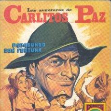 Tebeos: CARLITOS PAZ Nº1 (SERIE ROJA 12). EDITORIAL ROLLÁN, 1973. Lote 286425188