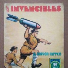 Tebeos: LOS INVENCIBLES: EL MAYOR RIPPER (ROLLÁN/FLEETWAY, 1973). SERIE AZUL N°5.. Lote 286680668