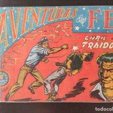 Tebeos: TEBEO- AVENTURAS DEL FBI- CUBIL DE TRAIDORES-. Lote 287686413