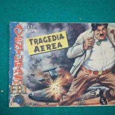 Tebeos: AVENTURAS DEL FBI Nº 177 TRAGEDIA AEREA. EDITORIAL ROLLAN.. Lote 288480178