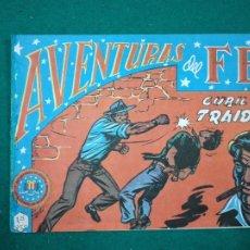 Tebeos: AVENTURAS DEL FBI Nº 15. CUBIL DE TRAIDORES. . EDITORIAL ROLLAN. FACSIMIL.. Lote 288480663