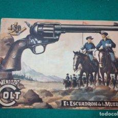 Tebeos: MENDOZA COLT Nº 52. EL ESCUADRON DE LA MUERTE. . EDITORIAL ROLLAN 1959.. Lote 288635748