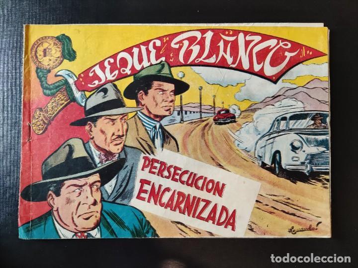 TEBEO- JEQUE BLANCO- PERSECUCIÓN ENCARNIZADA (Tebeos y Comics - Rollán - Jeque Blanco)