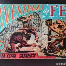 Tebeos: AVENTURAS DEL FBI- LA ESPÍA SATÁNICA. Lote 289262493