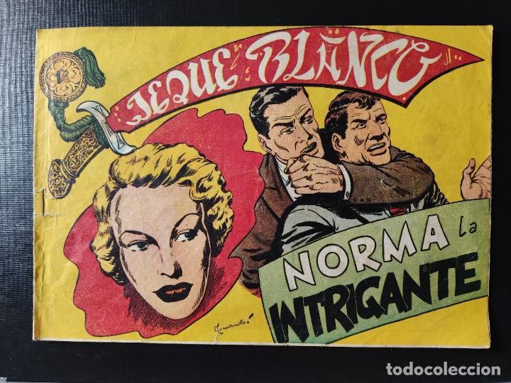 TEBEO- JEQUE BLANCO- NORMA INTRIGANTE (Tebeos y Comics - Rollán - Jeque Blanco)