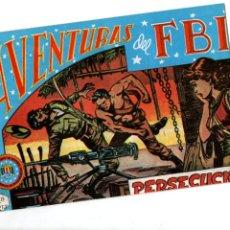 Tebeos: AVENTURAS DEL FBI. Nº 34. PERSECUCION. EDITORIAL ROLLAN. F.B.I.. Lote 289856518