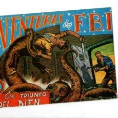 Tebeos: AVENTURAS DEL FBI. Nº 32. EL TRIUNFO DEL BIEN. EDITORIAL ROLLAN. F.B.I.. Lote 289856703