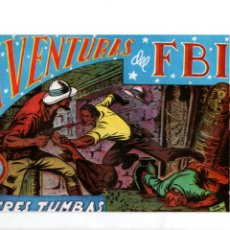 Tebeos: AVENTURAS DEL FBI. Nº 22. TRES TUMBAS. EDITORIAL ROLLAN. F.B.I.. Lote 289856928