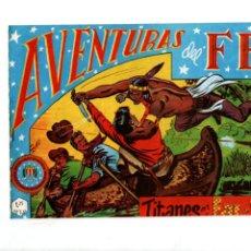 Tebeos: AVENTURAS DEL FBI. Nº 20. TITANES EN EL FAR-WEST. EDITORIAL ROLLAN. F.B.I.. Lote 289857228