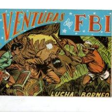 Tebeos: AVENTURAS DEL FBI. Nº 16. LUCHA EN BORNEO. EDITORIAL ROLLAN. F.B.I.. Lote 289857423