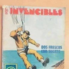 Tebeos: LOS INVENCIBLES - DOS FRESCOS CON SUERTE. ROLLAN. SERIE AZUL. NUM 7. Lote 290717283