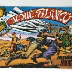 Tebeos: JEQUE BLANCO - MISIÓN EN AFRICA - EDICIONES BO. Lote 293146013