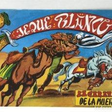 Tebeos: JEQUE BLANCO - LA CARAVANA DE LA MUERTE - EDICIONES BO. Lote 293146213