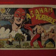 Tebeos: EL DIABLO DE LOS MARES (TORAY - 1947) ... Nº 34. Lote 25841447