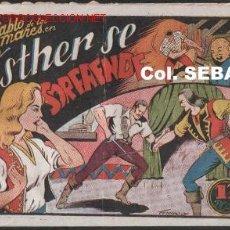 Tebeos: EL DIABLO DE LOS MARES Nº 35 -- TORAY 1947 -- ORIGINAL. Lote 22731479