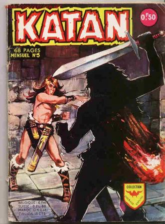 KATAN 5 FRANCES. RARISIMO (Tebeos y Comics - Toray - Katan)