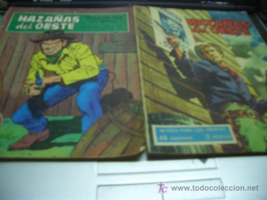 HAZAÑAS DEL OESTE (Tebeos y Comics - Toray - Hazañas del Oeste)