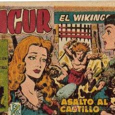 Tebeos: SIGUR EL VIKINGO (TORAY) ORIGINAL 1958 SELECCION DE AVENTURAS LOTE. Lote 27615477