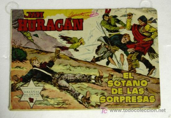 JIM HURACAN Nº 6, 7, 8, 16, 17 Y 36 AÑO 59 EDICIONES TORAY (Tebeos y Comics - Toray - Otros)