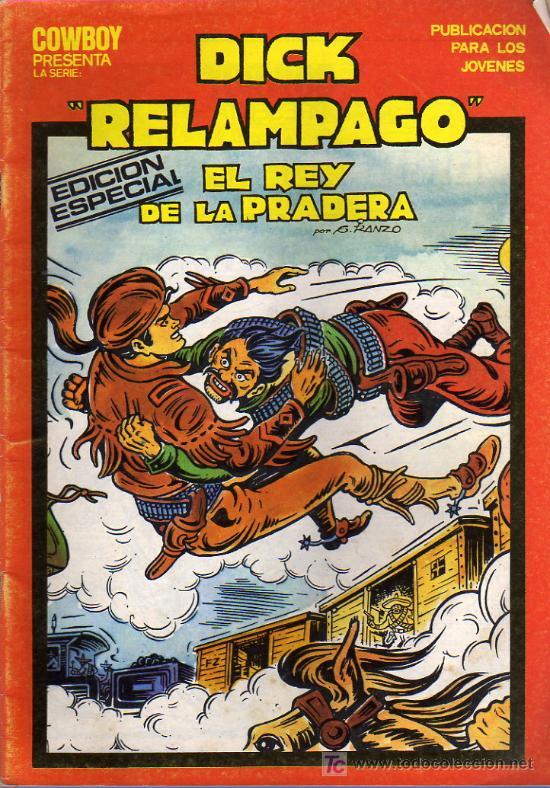 DICK RELAMPAGO Nº14 (Tebeos y Comics - Toray - Dick Relampago)