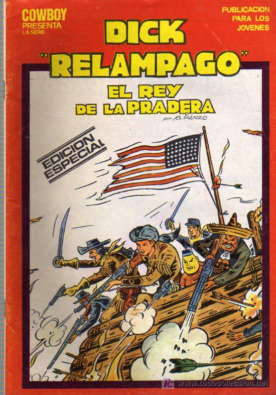 DICK RELAMPAGO Nº16 (Tebeos y Comics - Toray - Dick Relampago)