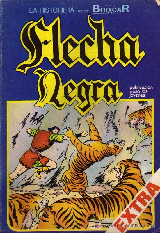FLECHA NEGRA Nº8 (Tebeos y Comics - Toray - Flecha Negra)