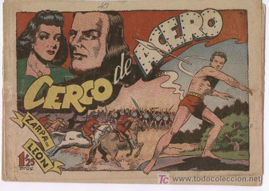 ZARPA DE LEON Nº 43 (Tebeos y Comics - Toray - Zarpa de León)