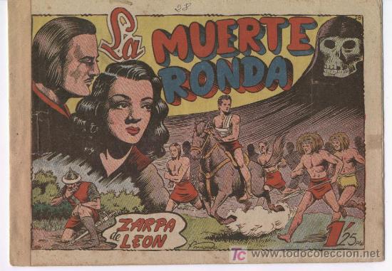 ZARPA DE LEON Nº 28, , EDI.TORAY 1949, POR FERRANDO (Tebeos y Comics - Toray - Zarpa de León)
