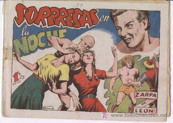 ZARPA DE LEON 39 USADO BUENO (Tebeos y Comics - Toray - Zarpa de León)