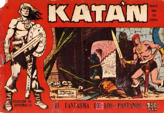 KATAN (ORIGINAL) Nº 12 (Tebeos y Comics - Toray - Katan)