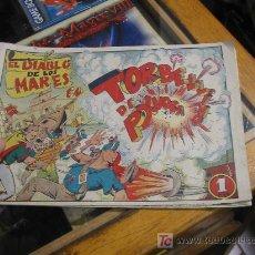 Tebeos: EL DIABLO DE LOS MARES N-25. Lote 10106867