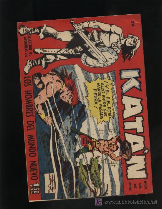 KATAN N? 23 (Tebeos y Comics - Toray - Katan)