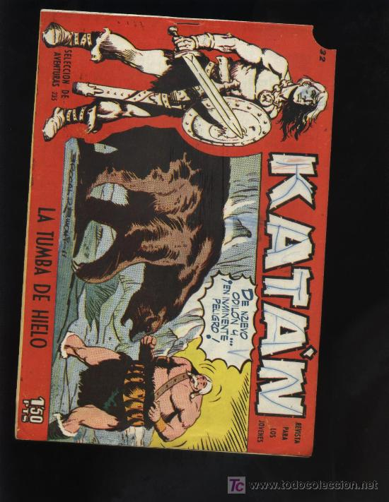 KATAN N? 32 (Tebeos y Comics - Toray - Katan)