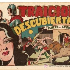 Tebeos: ZARPA DE LEON Nº 26 NUEVO, EDI. TORAY 1949 POR FERRANDO. Lote 4639458