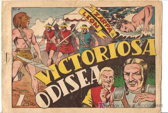 ZARPA DE LEON Nº 31, EDI. MARCO 1949, POR FERRANDO (Tebeos y Comics - Toray - Zarpa de León)