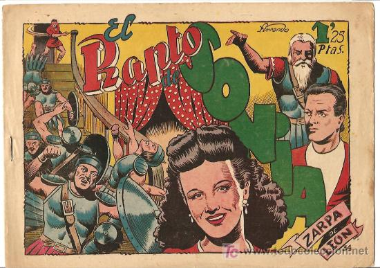 ZARPA DE LEON Nº 34 BUENO, EDI. TORAY 1949 POR FERRANDO (Tebeos y Comics - Toray - Zarpa de León)