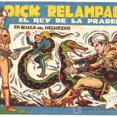 Tebeos: DICK RELAMPAGO Nº 12, BASTANTE , EDITORIAL TORAY 1960 POR JUAN GARCIA IRANZO. Lote 6471986
