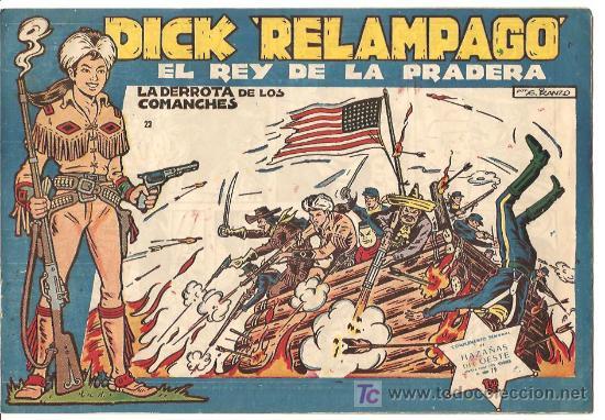 DICK RELAMPAGO 23, ESCELENTE ESTADO, DIFICIL (Tebeos y Comics - Toray - Dick Relampago)