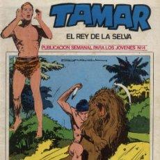 Tebeos: TAMAR, EL REY DE LA SELVA - Nº 14 - EDDICIONES TORAY 1973. Lote 94552472