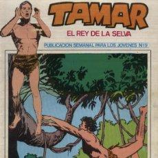 Tebeos: TAMAR, EL REY DE LA SELVA - Nº 19 - EDDICIONES TORAY 1973. Lote 94551419