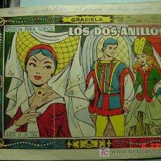 Tebeos: 654 GRACIELA CUENTO DE HADAS LOS DOS ANILLOS AÑOS 1950 - COSAS&CURIOSAS. Lote 5411469