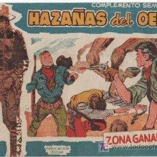 Tebeos: HAZAÑAS DEL OESTE SERIE AZUL, TORAY 1959 Nº 11. Lote 5852146