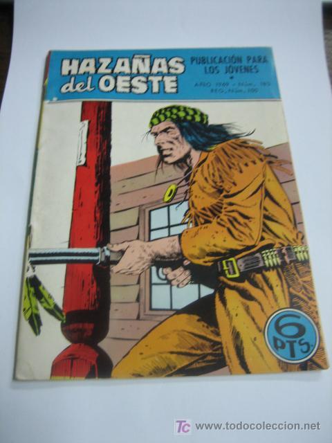 HAZAÑAS DEL OESTE Nº 183 EDICIONES TORAY (Tebeos y Comics - Toray - Hazañas del Oeste)
