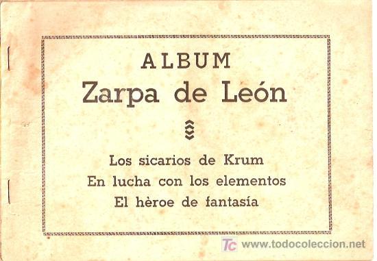 ZARPA DE LEON ALBUM. ORIGINAL. EDICIONES TORAY. (Tebeos y Comics - Toray - Zarpa de León)
