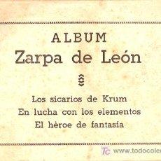 Tebeos: ZARPA DE LEON ALBUM. ORIGINAL. EDICIONES TORAY.. Lote 5938172